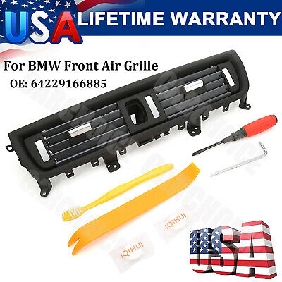 Front Air Grille Grill Center Dash AC Vent For BMW F10 F11 F18 5Series 550i 535i