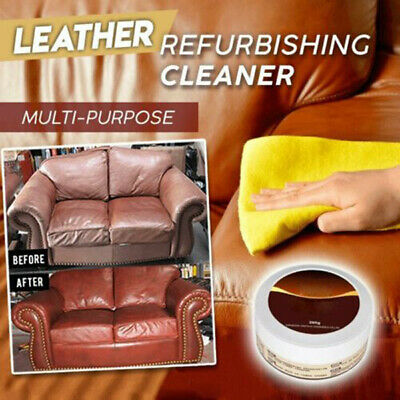 Leather Repair Cream/Filler Compound - For Leather Restoration,Cracks,Burns,Hole