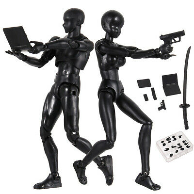 Drawing Figures for Artists Action Figure Model Human Mannequin Man Woman New