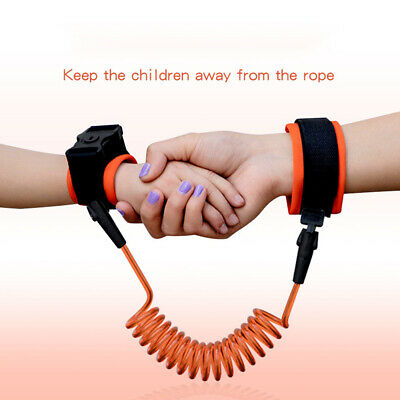 Anti lost Band Safety Link Harness Toddler Kid Baby Wrist Strap Belt Reins D6R2M