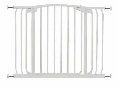 Stork Child Toddler Safety Stair Gate - 97-108 Cm - White