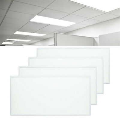 4x 72W Cool White LED Ceiling Panel Flat Tile Panel Downlight 6500k Super Bright