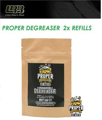 Guy Martin Proper Motorcycle Bike Degreaser Refill 2 X Pouch Capsules 1.5L