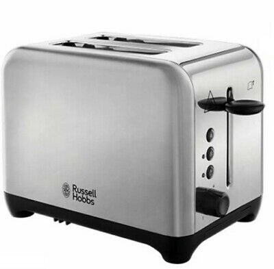 Russell Hobbs Waverley Silver Toaster 24100 NEW