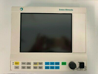 Datex Ohmeda AS/3 D-LCC10A..00 Anesthesia Display Monitor - Biomed Certified