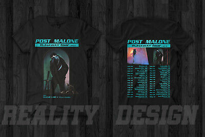 Post Malone Runaway Tour 2019 T Shirt Swae Lee Tyla Yaweh  Hollywood's Bleeding