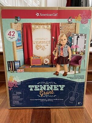 """American Girl 18/"""" Doll Tenney Grant Stage Dressing Room On Air Sign ONLY"""