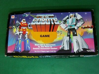 Challenge Of The Gobots Board Game 1985 By Pic Toys Ltd