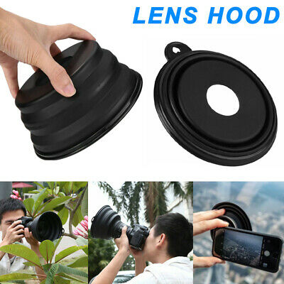 Silicone Telescopic Lens Hood Removing Glares By Day Reflection for Phone Camera
