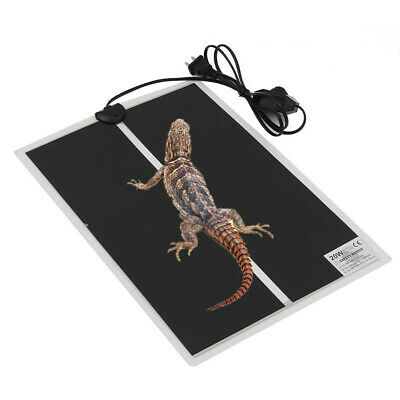 Reptile Vivarium Heat Mat Heating Warm Heater Pad With Thermostat Controller
