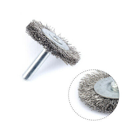 10Pc 2Inch Stainless Steel Wire Brush Grinding Wheel For Drills Rust Rotary Tool