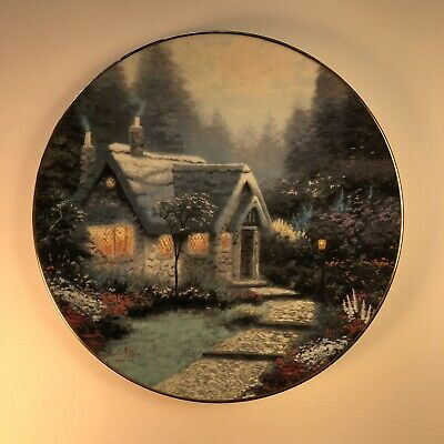 Superb Thomas Kinkade Twilight Cottage Cottages Of Light Ii A P Home Interior And Landscaping Ologienasavecom