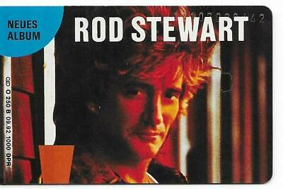 Rare / Carte Telephonique - Rod Stewart / Phonecard Telefonkarte 1000 Ex Only