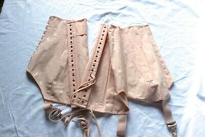1940'S Original Basque Boned Corset Burlesque Vintage Unused