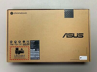 "Asus Chromebook 15.6""  C523NA-IH24T 4GB 64GB eMMC Silver - MINT condition"