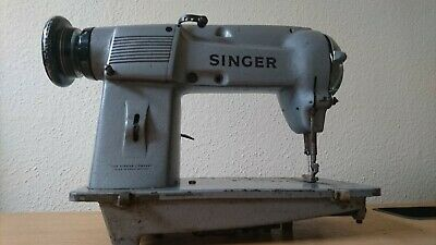 Singer 451K 45 Heavy Duty Industrial Sewing Machine Very Rare Factory Piece