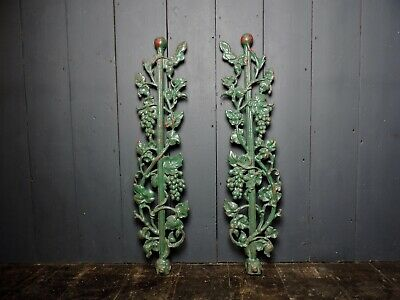 Original Antique Victorian Decorative Cast Iron Sections