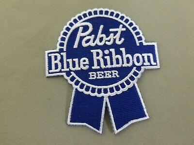 Pabst Blue Ribbon Beer embroidered patch