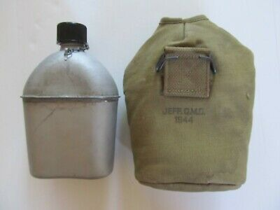 WW2 US Canteen Cover: Oversized JQMD 1944
