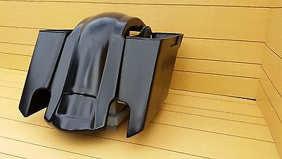 """Harley Davidson 5""""Stretched Saddlebags And Rear Fender For Touring  1996/2013"""