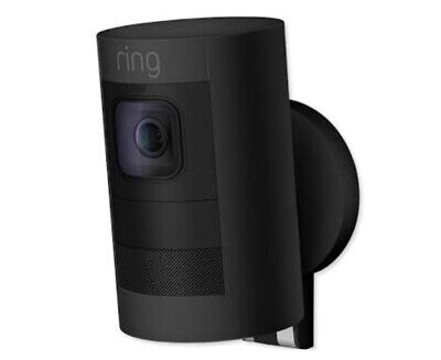 Ring Stick Up Cam Battery Black Wireless Security Camera 8SS1S8-BEN0