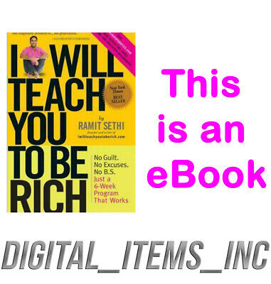 I Will Teach You to Be Rich (Read Description)