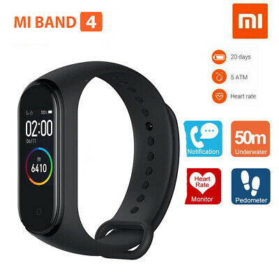 "Xiaomi Mi Band 4 0.95"" AMOLED Screen Bluetooth 135mAh Smart FitnessTracker Z6X8"