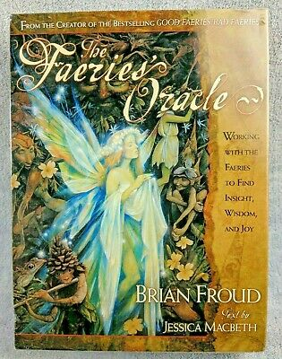 The Faeries Oracle Set Brian Froud Text by Jessica Macbeth 2000 New Cards/Guide