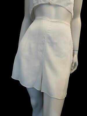 Vintage Lingerie - Cream Silk Bias Cut Tap Pants, French Knickers