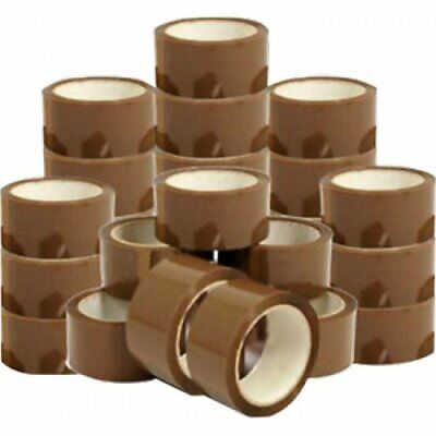 NEW ROLLS OF BROWN BUFF LONG PREMIUM  PARCEL PACKAGING SEALING TAPES 48mm x 66M