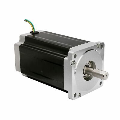 1PC Nema34 stepper motor 1700oz.in 6A 4wires single shaft length 151mm CNC KIT