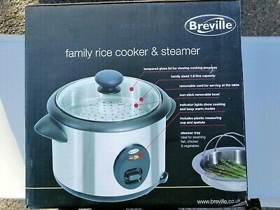 Breville Family Rice Cooker Steamer RC3