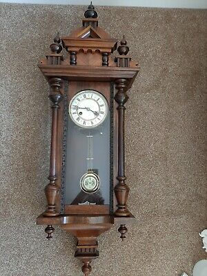 Antique Vienna Wall Clock.
