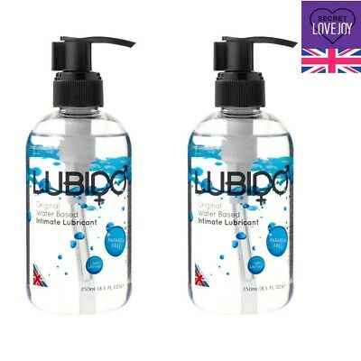 2 x Super Silk Lube Water Based Lubricant LUBIDO Sex Toy Safe Sex Aid FREE P&P