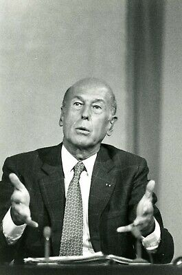 Valery Giscard D'estaing Photo De Presse