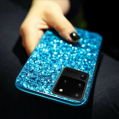 For Samsung Galaxy Note 10+ S10 Bling Glitter Diamond Sparkle  Hard Case Cover