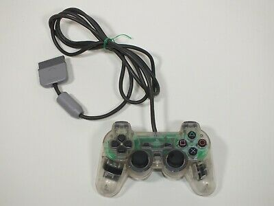 Official Sony PlayStation 1 PS1 CLEAR TRANSPARENT Controller Pad SCPH-1200