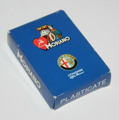 Modiano - Poker - Alfa Romeo / Gente Motori - Deck of Playing Cards