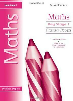 Key Stage 1 Maths Practice Papers: Years 1 & 2, Very Good Condition Book, Hilary
