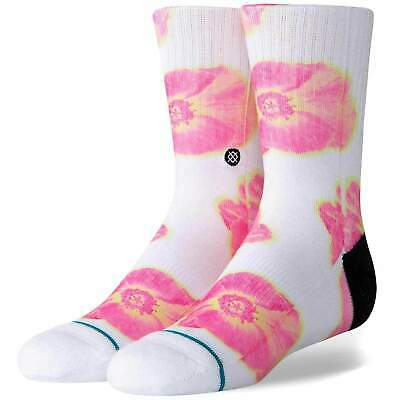Stance Kids Thermo Floral Kids Socks White |  Stance Kids Crew Length Socks