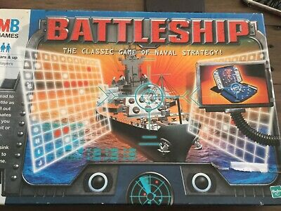 Battleship Board Game, The Classic Game Of Naval Strategy! MB Games Hasbro 1999