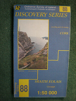 Discovery Series  88 Staith Eolais  Northern Ireland Os Ordnance Survey Map
