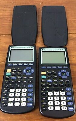Lot Of 2 Texas Instruments TI-83 Plus Graphing Calculator Not Working Parts Only