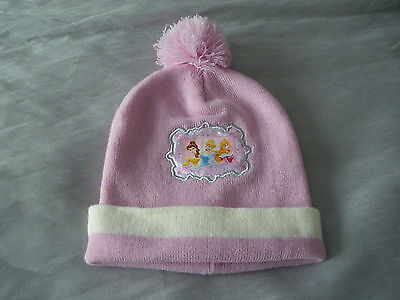 Hat  Girls  Pink  Disney  Age  6 / 10 Years  Approx   Vgc