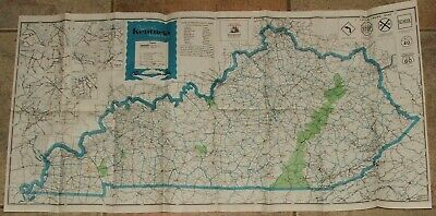 LOT OF 11 Road Highway Maps & Others - Kentucky, Indiana ...