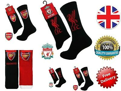 Men Junior Official Football Club Team Socks Arsenal Liverpool
