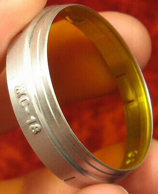 SOVIET YELLOW LIGHT FILTER JS-18 LZOS D=36 mm. camera Zorki Fed Lens Industar 22