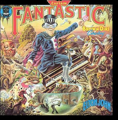 Captain Fantastic and the Brown Dirt Cowboy by Elton John (CD, Oct-1990,...