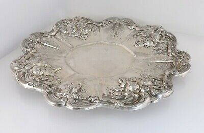 Reed & Barton Francis I Sterling Silver Sandwich Serving Plate X569 541g