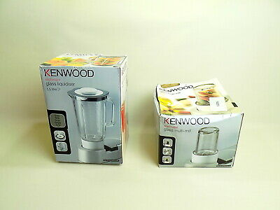 Kenwood Chef / Major  Glass Multi Mill & Glass Liquidiser 1.5l